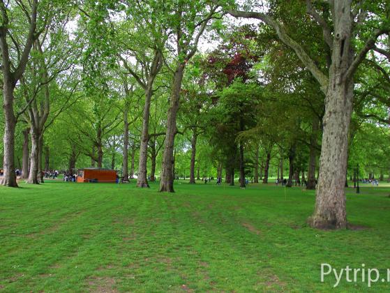 green park in london