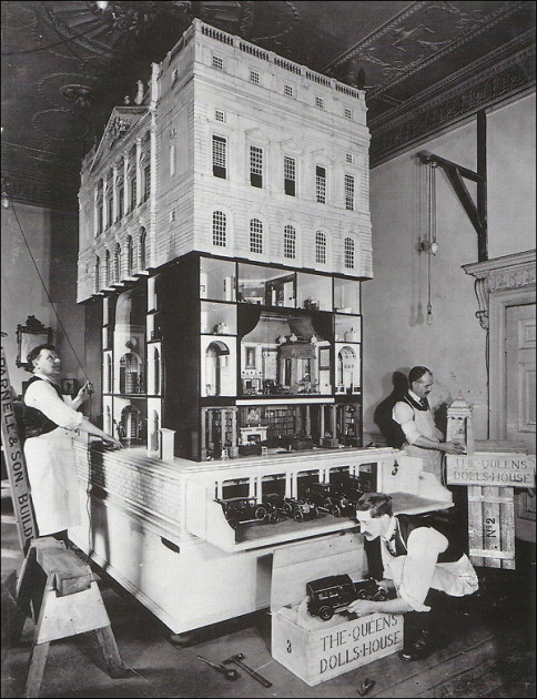 кукольный дом королевы марии