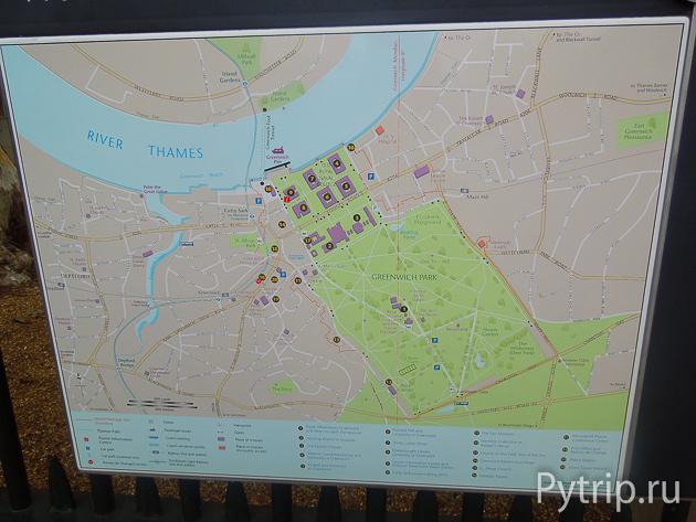 Карта Гринвича