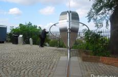 Королевская Обсерватория Гринвич, где проходит нулевой меридиан