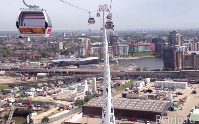 Канатная дорога (Emirates Air Line) в Лондоне