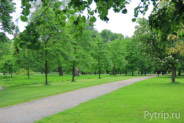 Кенсингтонский парк в Лондоне