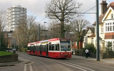 Трамваи в Лондоне (район Кройдон)