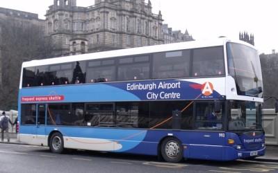 Как добраться из аэропорта Эдинбурга в город