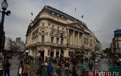 Площадь Пикаддили в Лондоне