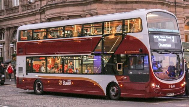 Общественный транспорт Эдинбурга