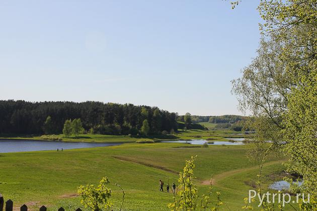 Окрестности музея Михайловское
