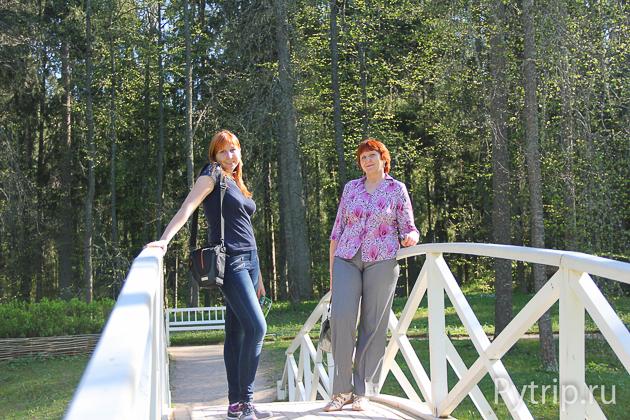мостик в селе Михайловское