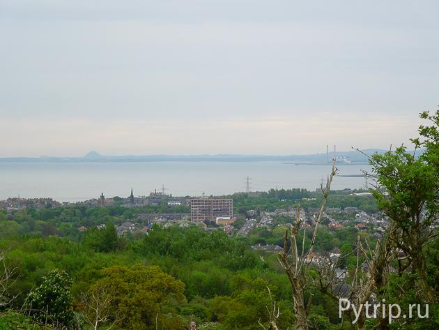 Вид на город с Трона Артура