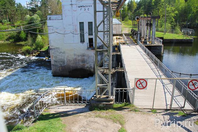 Шильская ГЭС в Опочке