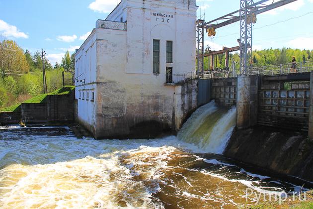 На Шильской ГЭС