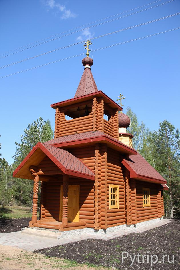 храм в д. Шильская