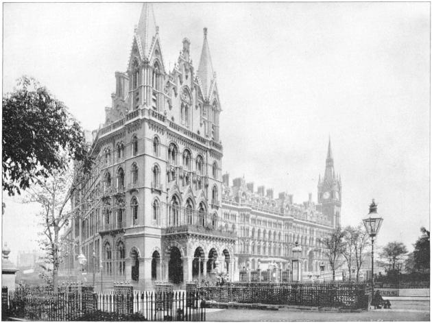 Вокзал St Pancras сто лет назад