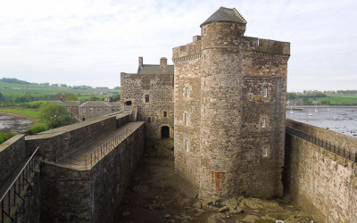 Замок Блекнесс в Шотландии