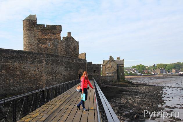 Замок Блекнесс фото окрестности