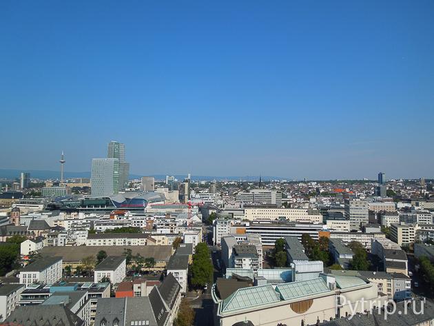Башня во Франкфурте