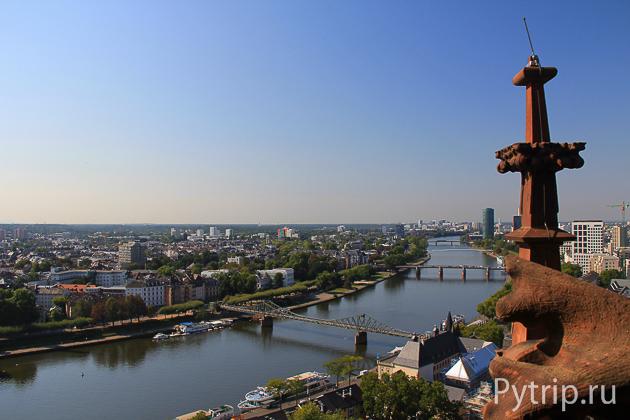 Франкфурт башня собора