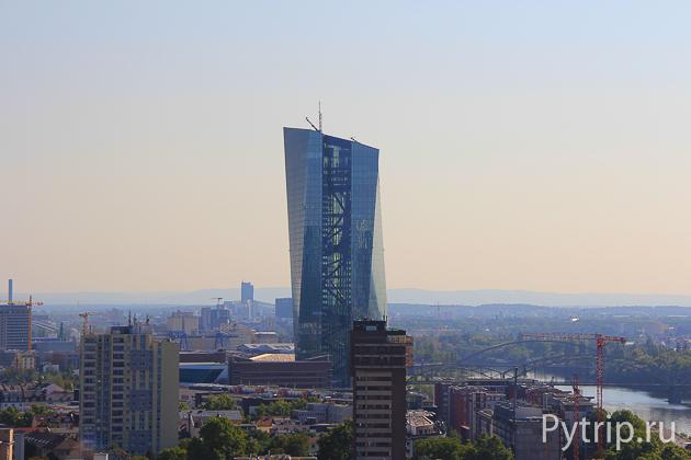 небоскреб Франкфурт