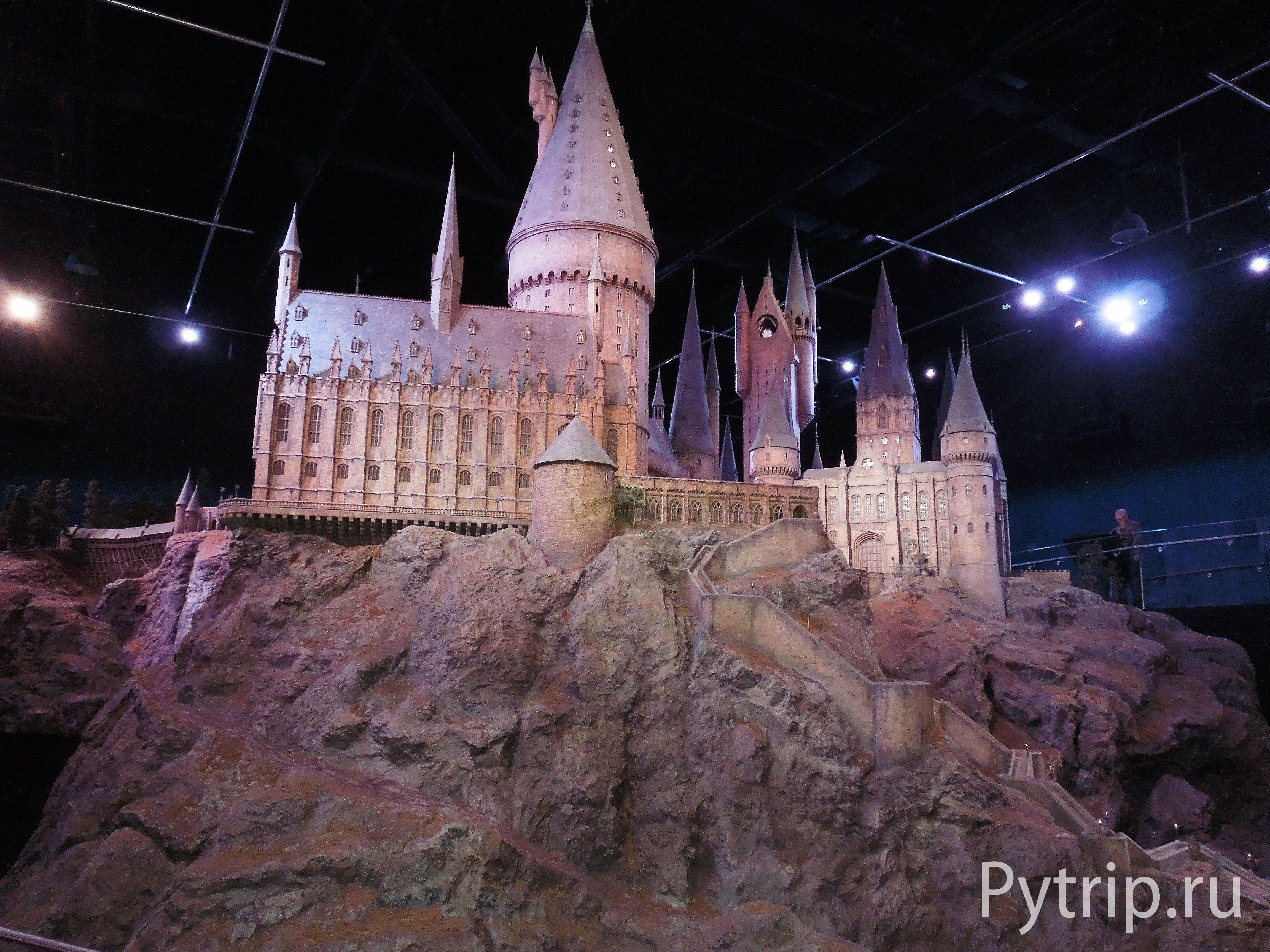 Замок Хогвартс в музее Ливсден