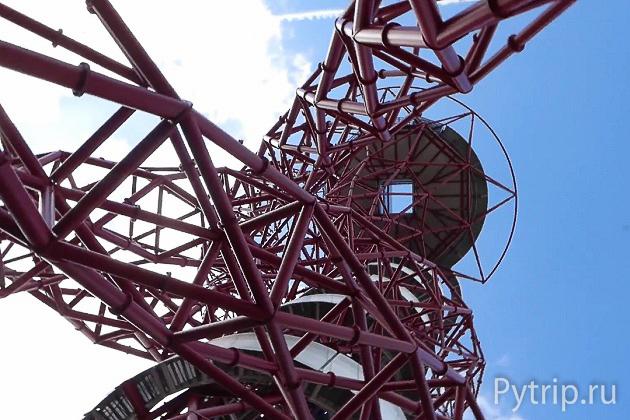 Орбита в Олимпийском парке снизу