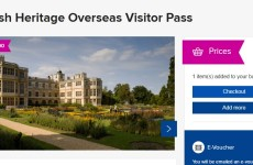 Карточка Overseas Visitor Pass и членство в English Heritage