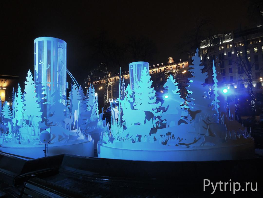 Рождественский свет в Москве