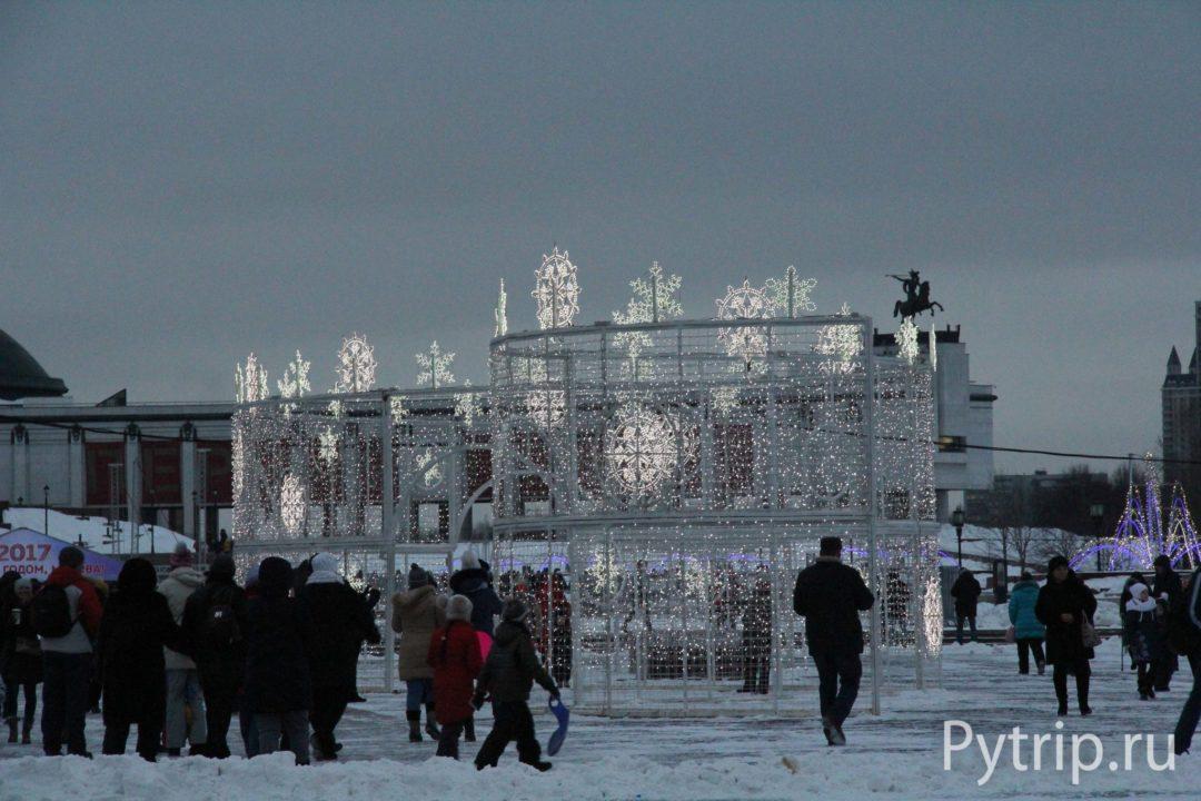 Световые декорации в Москве