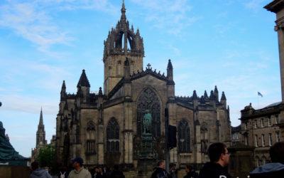 Первый день в Эдинбурге: прогулка по Royal Mile и не только