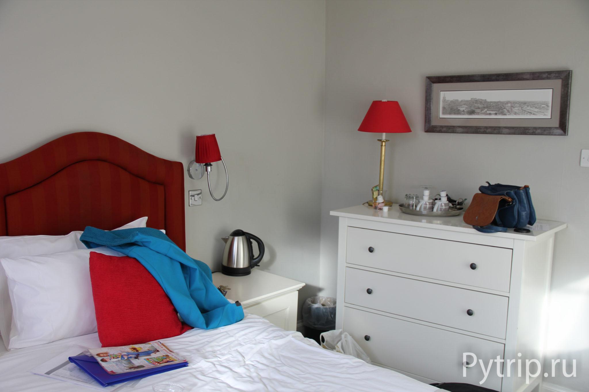 Наша комната в отеле Эдинбурга