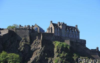 Второй день в Эдинбурге — идем в замок и музей иллюзий