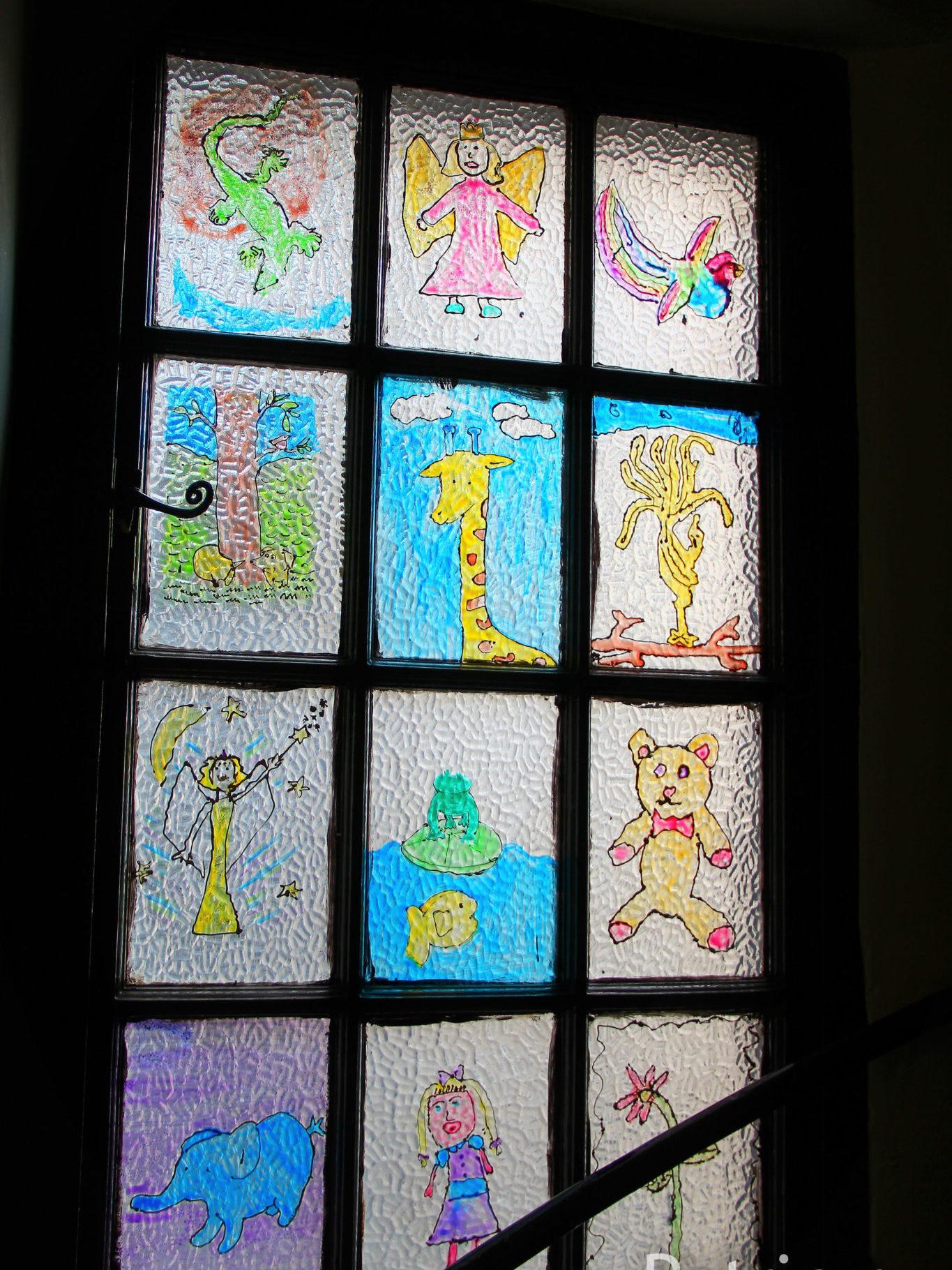 Лестница в музее детства в Эдинбурге