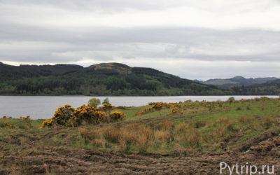 День третий. Прогулка на машине по горам Шотландии
