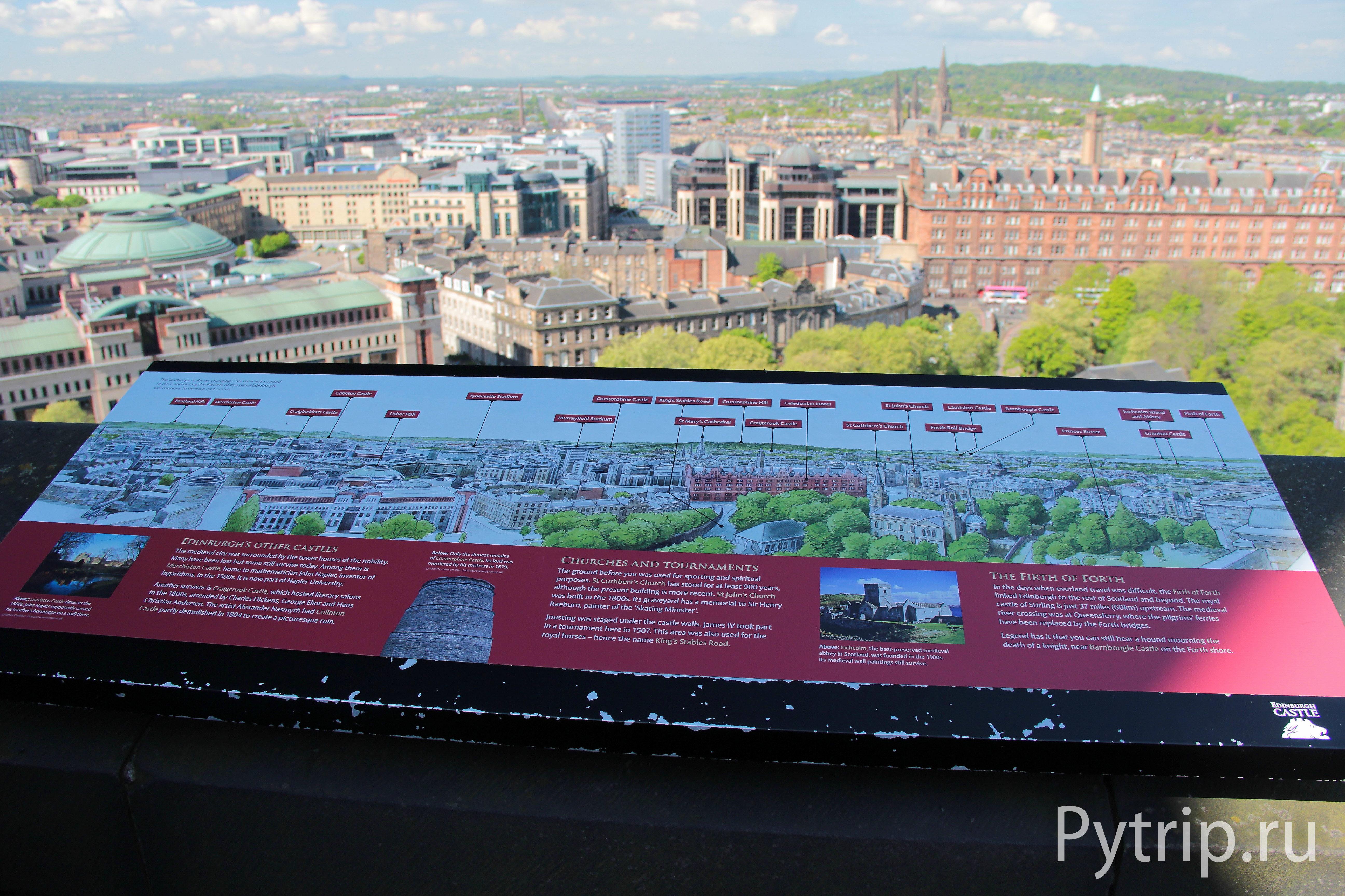 Прогулка по Эдинбургскому замку
