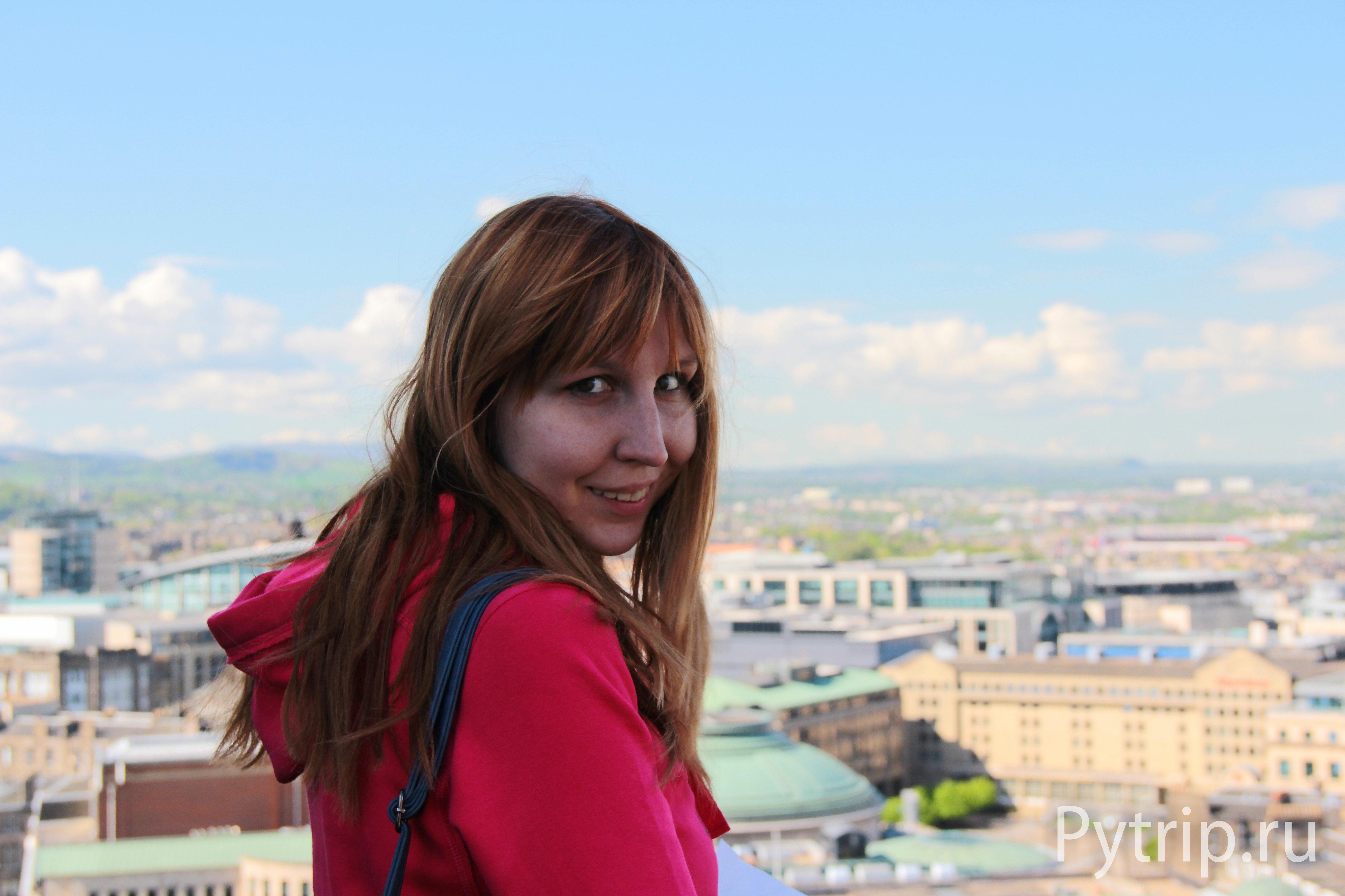 Вид с Эдинбургского замка