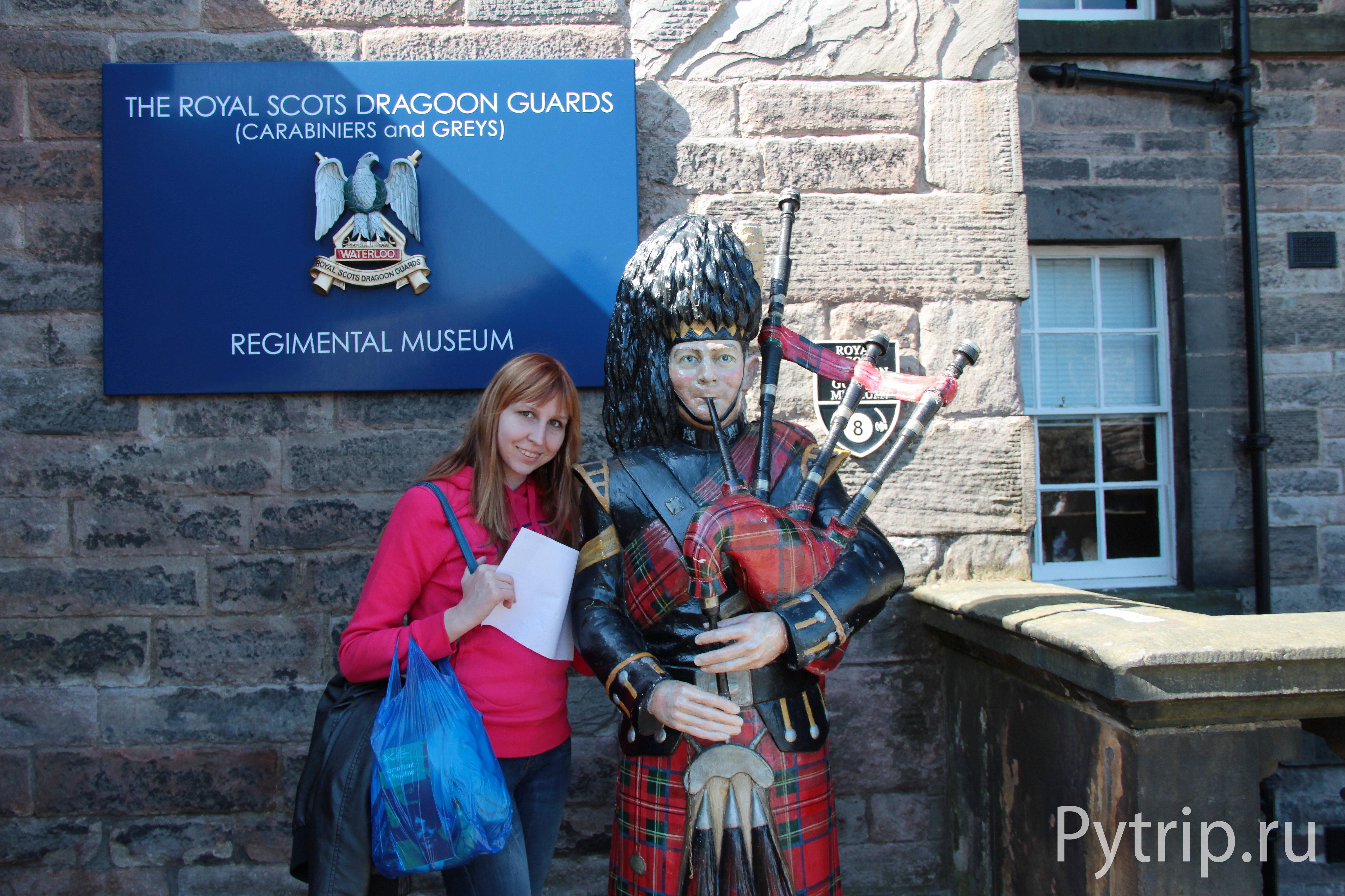 Волынщик в Эдинбургском замке