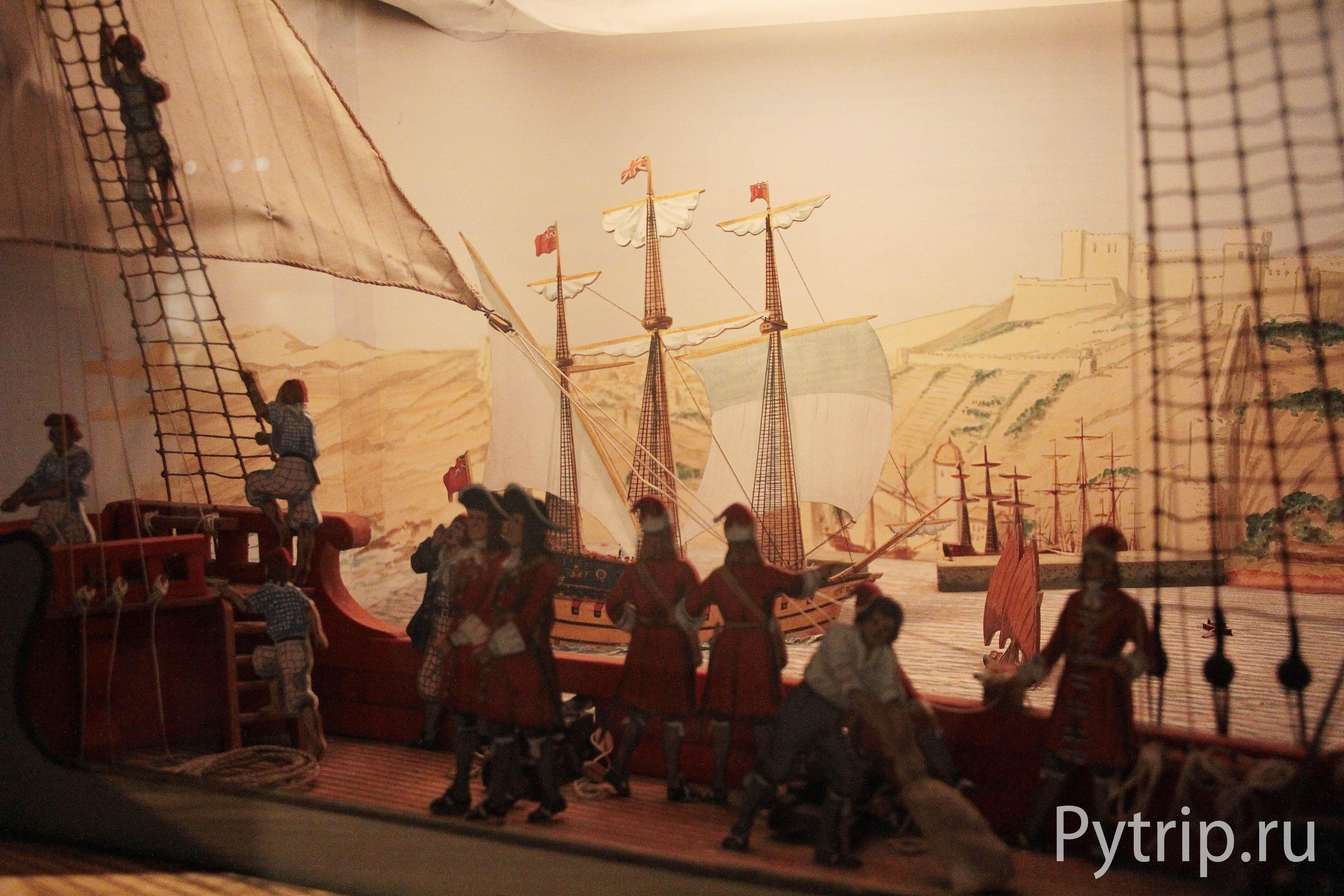 В одном из музеев Эдинбургского замка